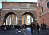 Walking Around to St. Peter's in the Vatican