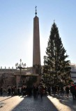 The Obelisk & Christmas Tree in the Square