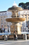 The Maderno Fountain