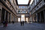 The Center of the Uffizi Museum