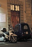 3-Wheel Electric Car With Vespa