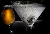 His Martini, her virgin drink