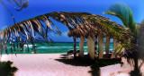 Palaba & beach, El Dorado Resort, Riviera Maya, Mexico