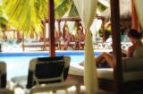 Relaxing in Riviera Maya, El Dorado Resort, Mexico