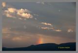 Sunset at Waterton