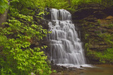 Hurst Falls at Cove Spring city park in Frankfort, KY