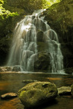 Spruce Flats Falls in the Smoky Mountain national park near Tremont, TN