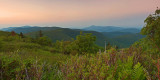 View from the top of Black Balsam, NC