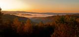 Sunrise on Jelico Mountain, TN of Interstate I-75