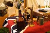 In the Confederate Camp
