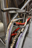 Hoses at the Fermentation Tanks