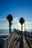 Late Afternoon on the Oceanside Pier