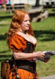 The Lady in Orange