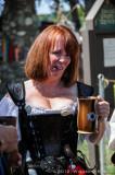 Lady with Shot Mug