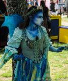 The Blue Sprite Wanders