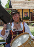 Lady with Drum