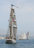 Three Tall Ships