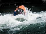 More whitewater.  Submarine or kayak?