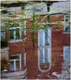 Apartment reflection.