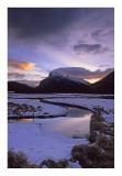 sunrise Vermilion lakes #1