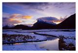 sunrise Vermilion lakes #2