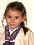Nicole in Hanbok