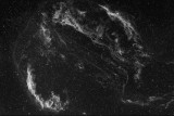 Dentelles du Cygne, ngc 6960 et 6992, Halpha 3nm