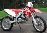 CRF450R with off-road setup