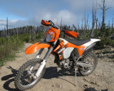 Big Bore KTM 280XCF at High Elevations