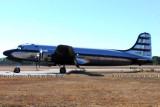 Brooks Fuel C-54G-DC N708Z at Douglas, Georgia, aviation stock photo #6033
