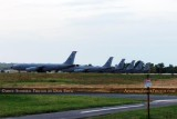 Illinois Air National Guard Boing KC-135RE Stratotankers at Scott AFB
