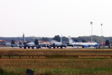 KC-135RE's and USAF Boeing C-40C Clipper #05-0730 at Scott AFB