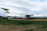 USAF Lockheed C-141B Starlifter #65-0236 at Scott Field Heritage Air Park aviation stock photo