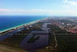 2011 - coastline, West Lake and West Lake Park landscape aerial stock photo