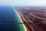 2011 - coastline from Dania Beach to Hollywood and beyond landscape aerial stock photo