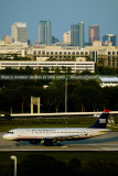 2012 - US Airways Airbus A320-214 N103US at Tampa International Airport aviation airline stock photo