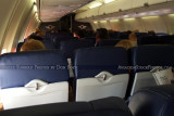 2012 - the new seating interior onboard Southwest Airlines B737-7H4 N220WN aviation airline stock photo