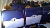 2012 - the new interior seats onboard Southwest Airlines B737-7H4 N220WN aviation airline stock photo