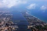 2012 - West Palm Beach, Lake Worth and Palm Beach landscape aerial photo