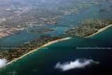 2012 - Palm Beach, Peanut Island, Lake Worth Inlet and Singer Island landscape aerial photo