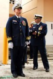 Rear Admiral William D. Baumgartner, Commander of the Seventh CG District, at the USCGC BERNARD C. WEBBER commissioning ceremony