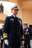 Admiral Robert J. Papp Jr., Commandant of the Coast Guard, at the USCGC BERNARD C. WEBBER (WPC 1101) commissioning ceremony