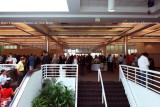 The reception in Terminal J at the Port of Miami following the commissioning of the USCGC BERNARD C. WEBBER (WPC 1101)