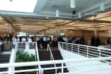 The reception at Terminal J at the Port of Miami following the commissioning of the USCGC BERNARD C. WEBBER (WPC 1101)