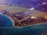 2011 - Port Canaveral and Cape Canaveral aviation aerial landscape stock photo #9289