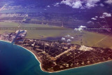 2011 - Port Canaveral and Cape Canaveral aviation aerial landscape stock photo #9290