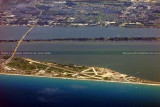 2011 - Patrick Air Force Base, Cocoa Beach aviation aerial landscape stock photo #9294