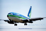1984 - Air Florida B737-222 N61AF airline aviation stock photo #US8407