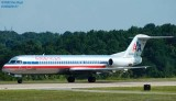 American Airlines Fokker F-100 N1416A aviation stock photo #0885