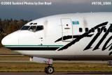 Alaska B737-4Q8 N760AS airline aviation stock photo #6736